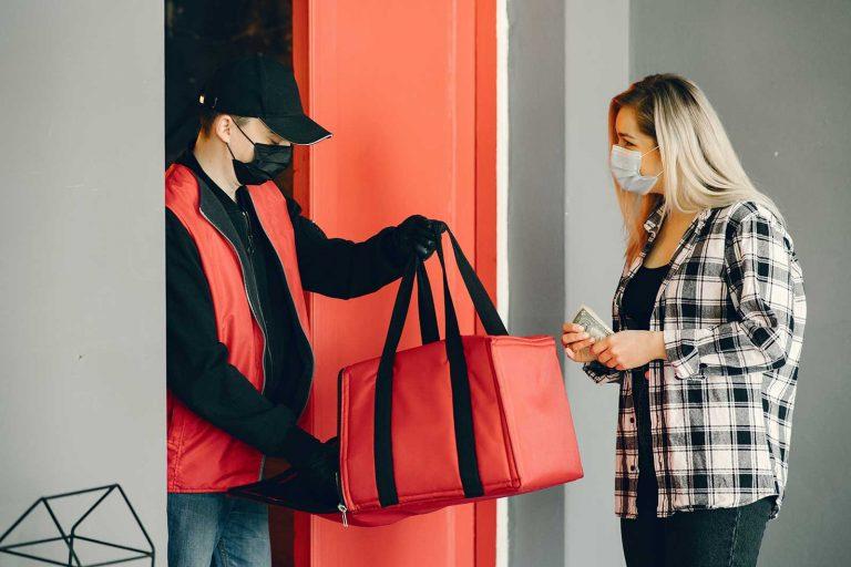 Delivery de compras aumentou 59% com isolamento social